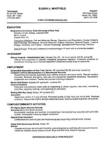 proper resume formats ehow