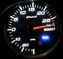How do you hook up a boost gauge