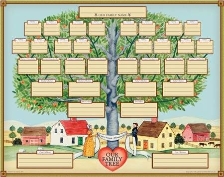 How to Draw a Family Tree When There Is a Divorce | Our Everyday Life