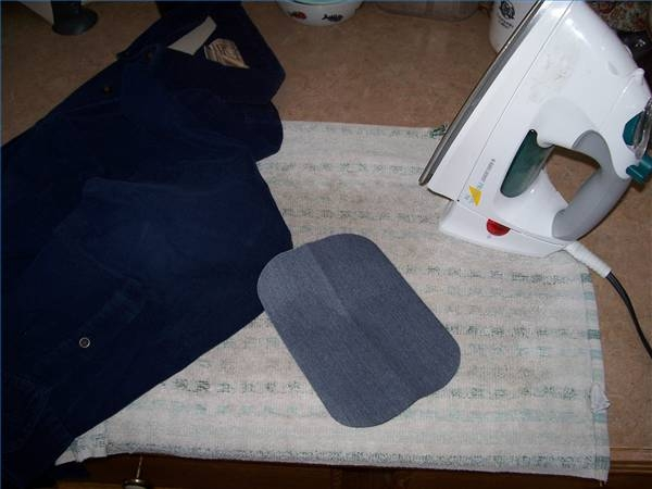 how to fix an iron burn hole on clothes