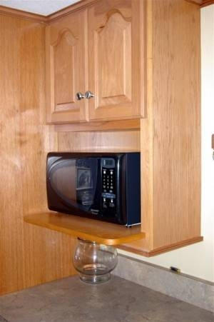 How To Build Cabinets For Over The Range Microwaves Ehow