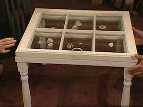 How to build a fox den ehow for Shadow box coffee table diy