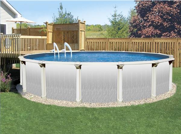 How to level the ground for a swimming pool ehow for Above ground salon