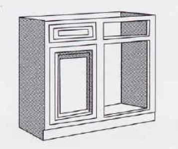 dimensions of a sink corner base cabinet ehow. Black Bedroom Furniture Sets. Home Design Ideas