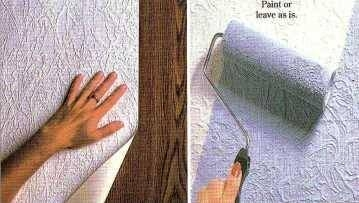 How To Paint Over Wallpaper Liner