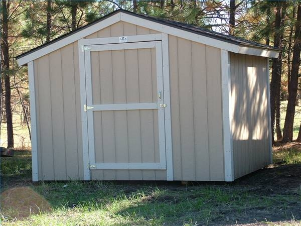 How to Build a Storage Shed Without a Foundation | eHow