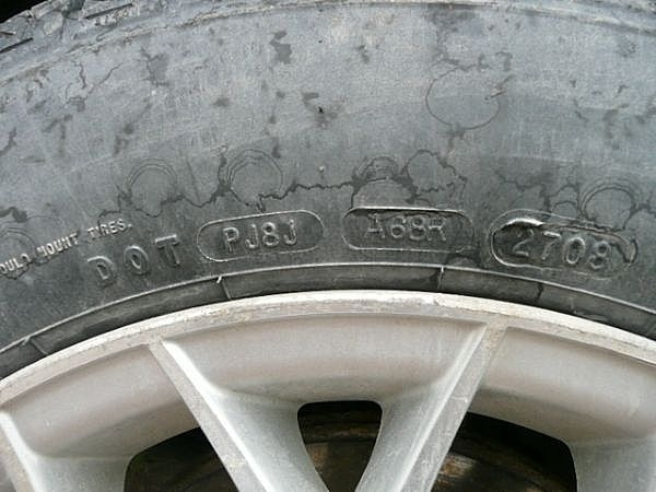 How do I Determine the Date of Manufacture for a Goodyear Wrangler