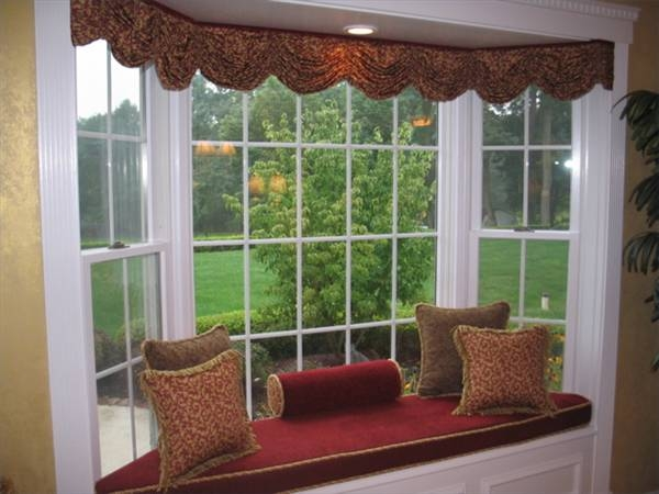How To Put Up Curtain Rods In A Bay Window Ehow