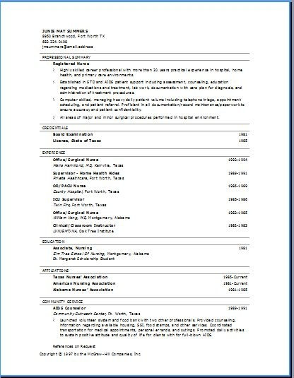 28 correct format of a resume exles of resumes for sles