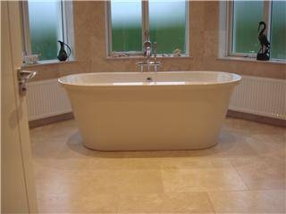 How To Remove A Stain From Travertine Tile Ehow
