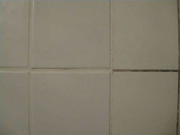 How to make tile grout white again ehow for How to make grout white again