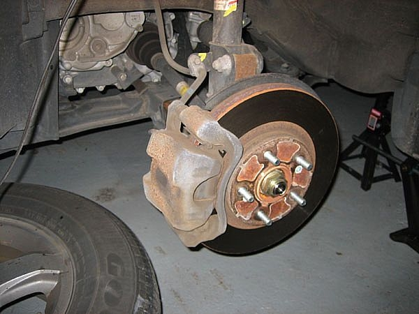 grease brake pads ehow