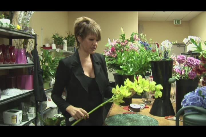 Cascade Bridal Bouquet Instructions : How to make a cascading orchid bridal bouquet ehow