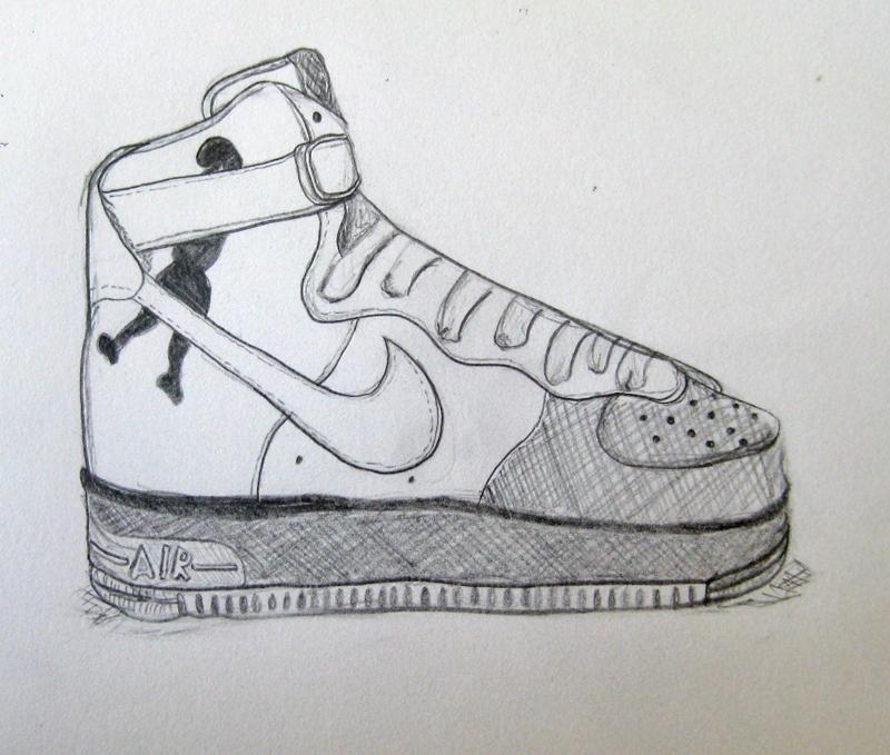 Nike Air Max Zeichnen