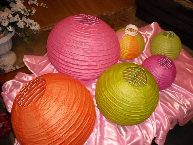 How to make a paper ball lantern with pictures ehow - How to make chinese lantern ...