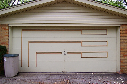 How can i dress up an outside garage wall ehow for Dress up your garage door