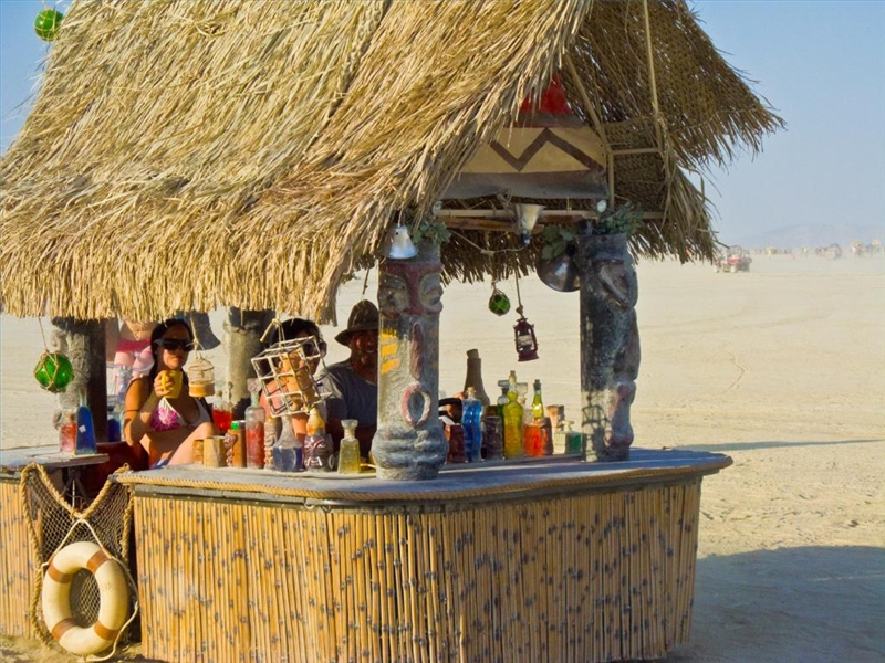 How To Make A Tiki Bar Out Of PVC Pipes