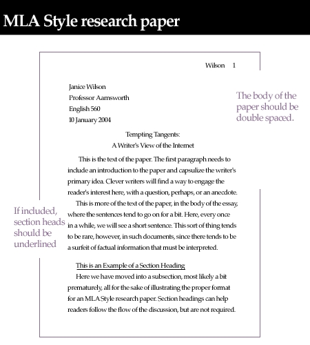 how to write an mla heading for essays correctly
