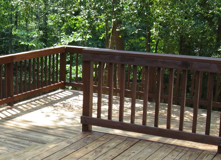 How To Paint Patio Wood Railing