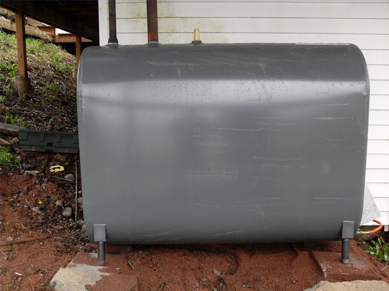 How To Landscape To Hide An Oil Tank Ehow
