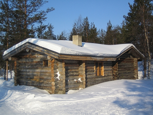 How much does it cost to build a log cabin ehow for How much does it cost to build a house yourself