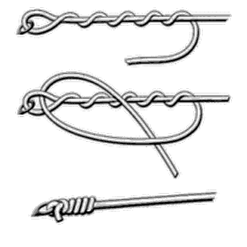 Fishing knot instructions gone outdoors your adventure for Clinch knot fishing