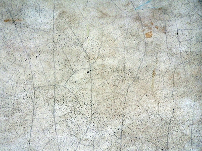 how to clean mold off of a crumbly concrete floor
