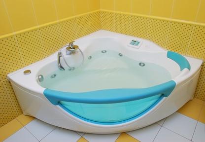 How to refinish an acrylic tub ehow for Acrylic vs porcelain tub