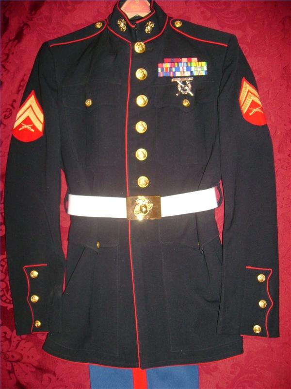 Proper Placement Of Medals On A Usmc Dress Blue Uniform Ehow