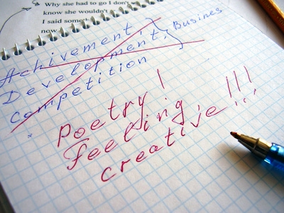 Write a poem online