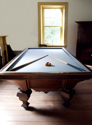 Moving Pool Table Slate Upstairs Photos Table And Pillow - How to move a pool table upstairs