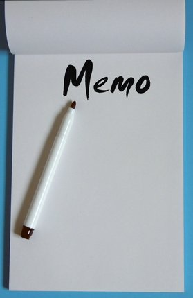 memo writing assignment
