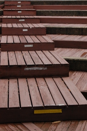 How To Cover Concrete Steps With Wood Ehow