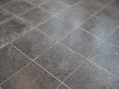 Porcelain tiles are extremely dense and durable.