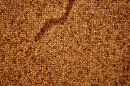 How do you patch up carpeting