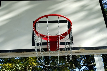 How to make your own basketball steel chain net healthfully for Build your own basketball court