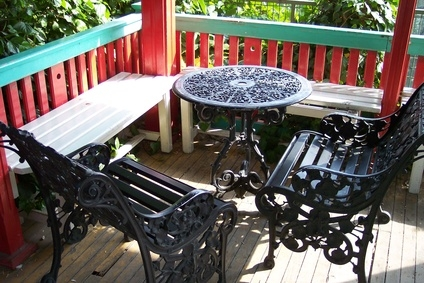 How To Repaint A Metal Table EHow