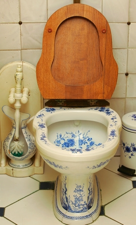 cleaning toilets should be part of The toilet seat is an area of the toilet that needs special attention while cleaning, as it is the part of the toilet which comes in contact with the people using it the seat should be raised, the seat should be sprayed, and the inside of the lid should be sprayed too.