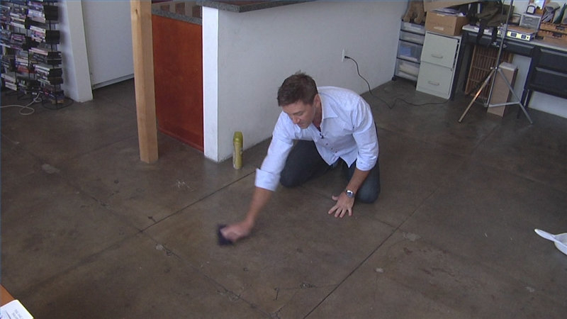 Diy how to polish concrete floors ehow for How to clean polished floors