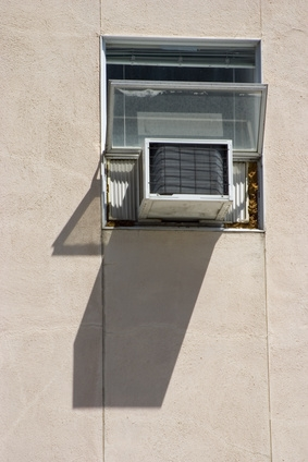 how to vent a portable air conditioner on a crank window ehow. Black Bedroom Furniture Sets. Home Design Ideas