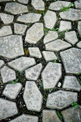 How to make a stepping stone pathway with a mold ehow for Adoquines para jardin