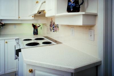 How To Cut Back A Laminate Countertop So I Can Install A Ceramic Backsplash