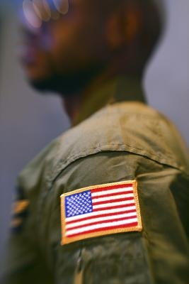 How to wear the army acu uniform ehow for Proper placement of american flag