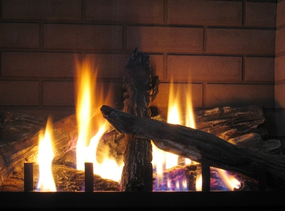 Vented Natural Gas Fireplace Smell