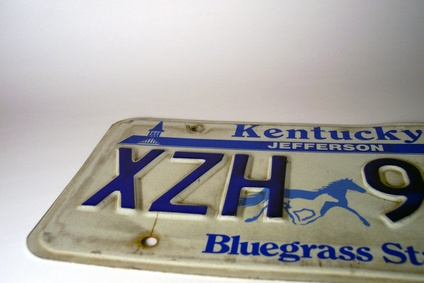 State license plate name tags