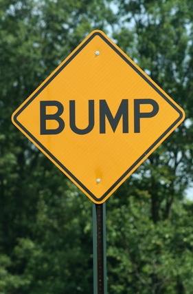 how to make a speed bump
