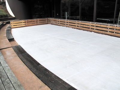 How Do I Build A Rink Over A Swimming Pool?