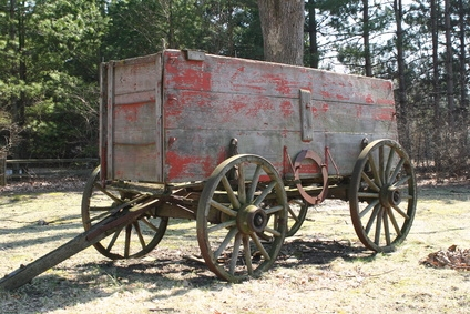 How to build a small conestoga wagon ehow for Covered wagon plans