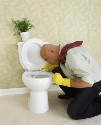 How To Clean Yellow Stains In Toilet Bowls With Pictures