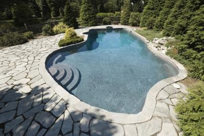 How to convert a swimming pool to a fish pond ehow for Swimming pools that look like ponds